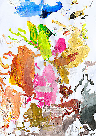 Free Abstract Painted Background 02 Stock Photography - 15210482