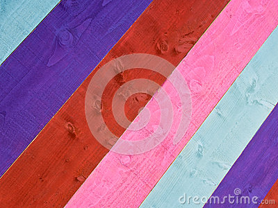 Abstract Painted Wood Background