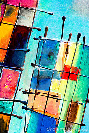Free Abstract Painting Stock Photography - 8827002