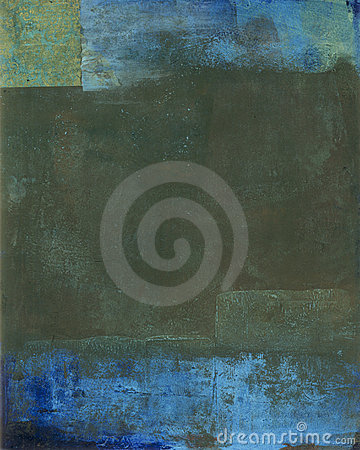 Abstract Painting Earth Tones
