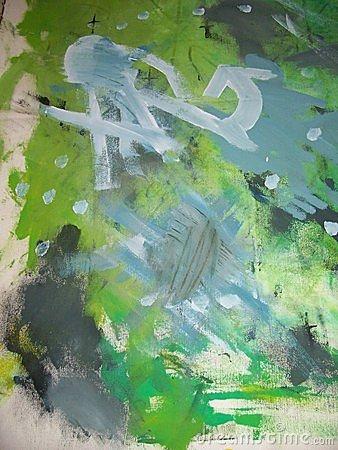 Free Abstract Painting Untitled Stock Image - 141131