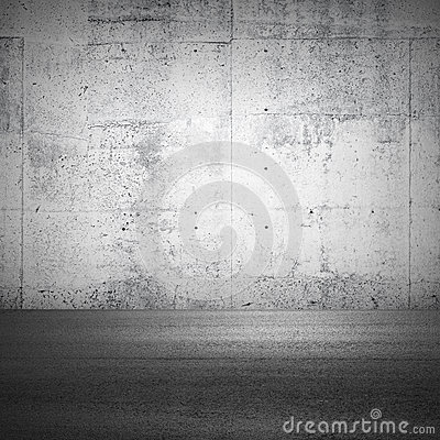 Abstract parking interior fragment