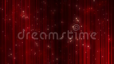 Abstract particle background. Red Abstract particle background with shine stars