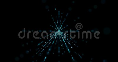 Abstract Particles Intro For Your Video Stock Footage ...