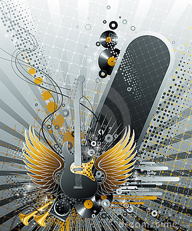 Abstract party design.