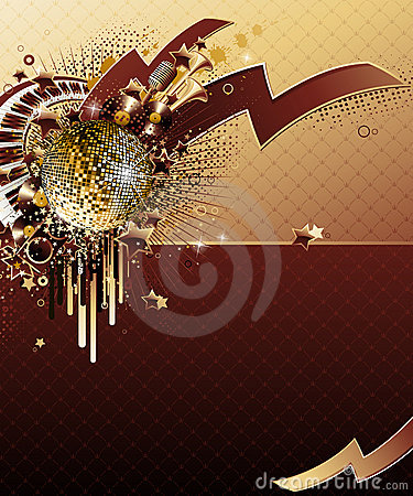 Free Abstract Party Design. Royalty Free Stock Images - 6390669
