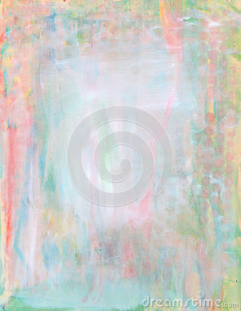 Abstract pastel watercolor paint background