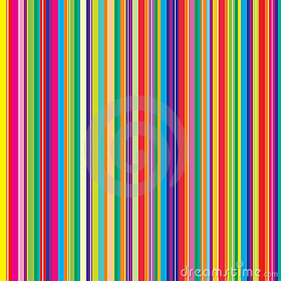 Abstract pattern with colorful stripes