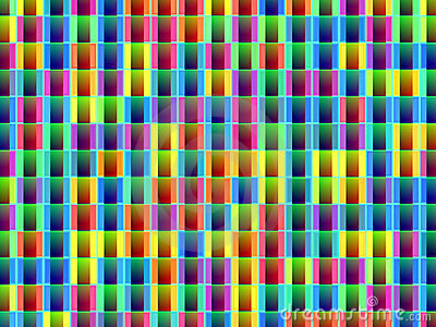 Abstract pattern decorative colorful background