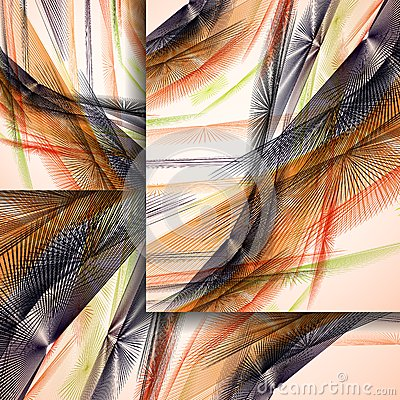 Abstract pattern of lines