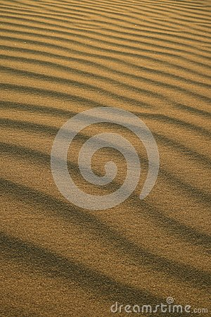 Free Abstract Pattern Of Desert Sand Ripples In The Evening Sunlight At Huacachina Sand Dune In Peru Stock Images - 121507464