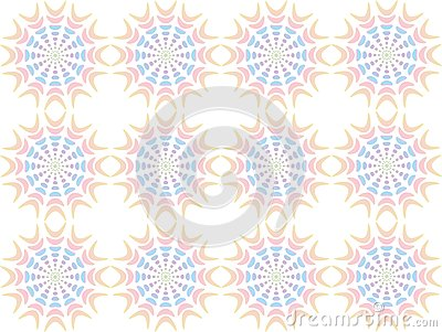 Abstract pattern of pastel tones