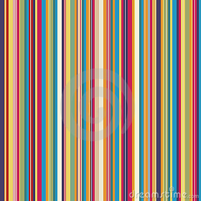 Free Abstract Pattern With Colorful Stripes Royalty Free Stock Photo - 7055085
