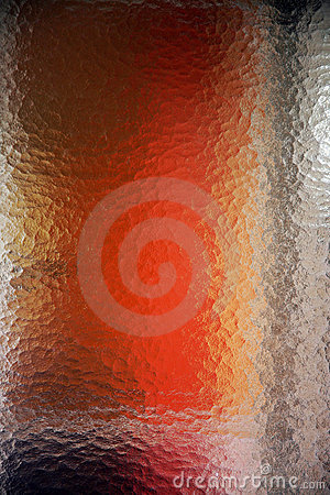 Abstract patterns frosted glass