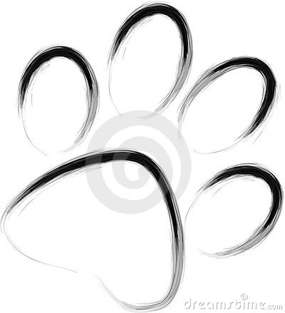 Abstract paw