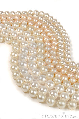 Free Abstract Pearls Stock Image - 554011