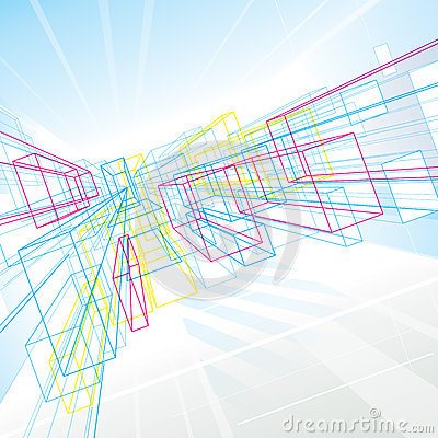 Abstract Perspective Lines