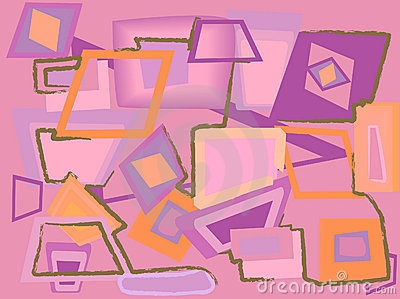 Abstract pink background. Vector illustration