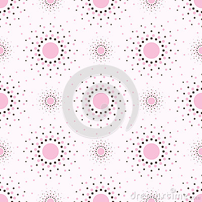 Free Abstract Pink Background With Circles. Royalty Free Stock Photography - 24995827