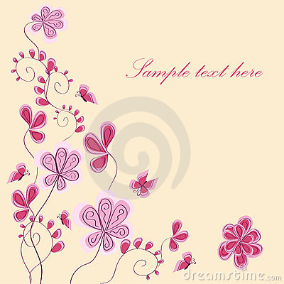 Free Abstract Pink Flower Royalty Free Stock Photography - 16629007