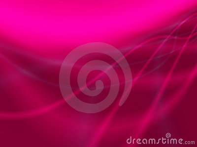 Abstract pink  light waves