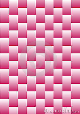 Abstract Pink Weave