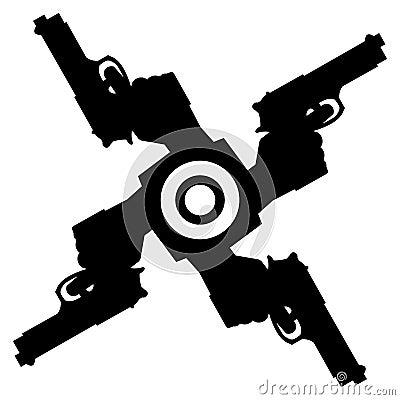 Abstract pistolls