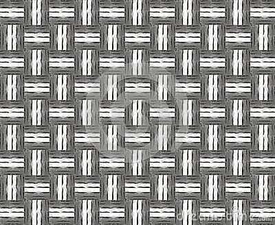 Abstract plaiting metallic texture