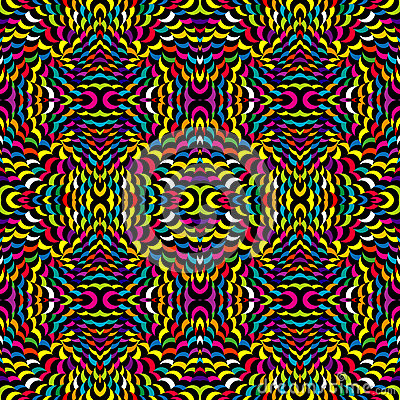 Abstract psychedelic background