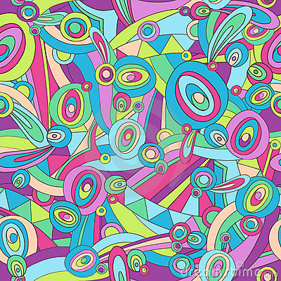 Free Abstract Pucci Seamless Repeat Pattern Vector Stock Images - 6857124