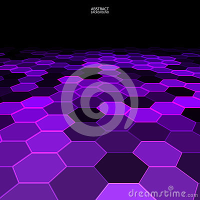 Black and purple geometric abstract background
