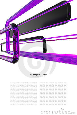 Abstract purple, black and white background