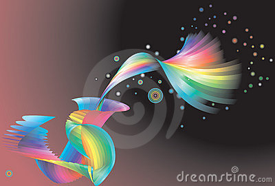 Abstract rainbow background,
