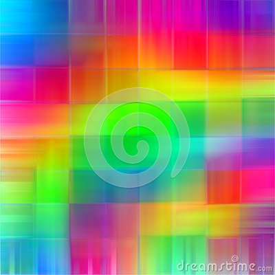 Abstract rainbow blurred lines color splash paint art background Stock Photo