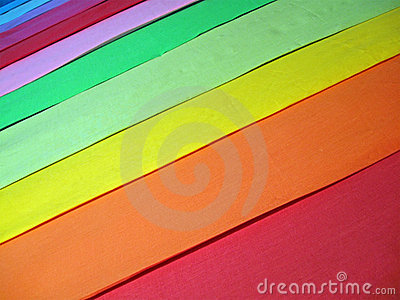 Abstract rainbow color textile,background closeup,
