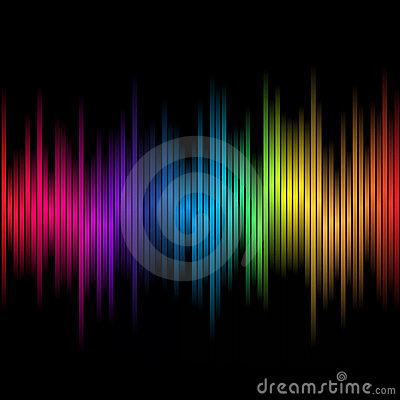 Free Abstract Rainbow Colours 2 Stock Image - 15405301