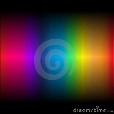 Abstract rainbow colours 3