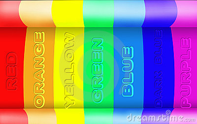 Abstract rainbow light background