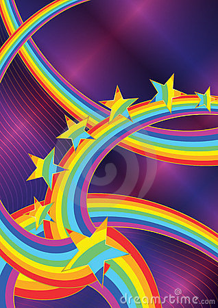 Abstract Rainbow Star_eps