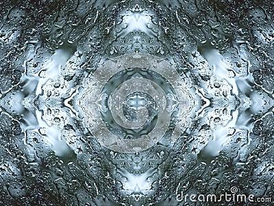 Abstract raindrops