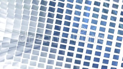 Abstract rectangle background on white stock video footage