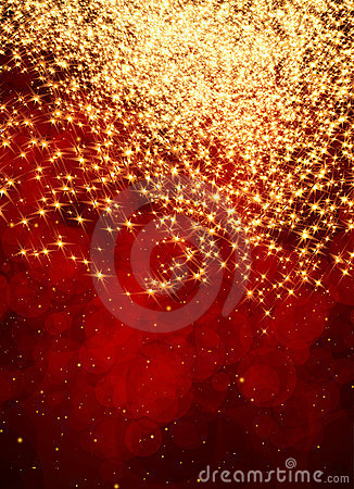 Free Abstract Red And Gold Background Stock Photo - 22532630