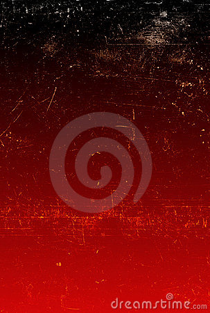 Abstract red background with scratches