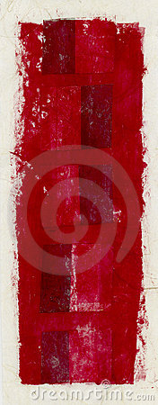 Abstract Red Banner