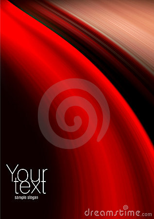 Abstract red, black and beige background
