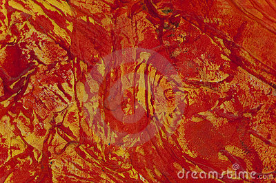 Abstract red canvas background