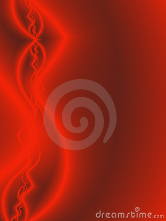 Abstract Red Glow Background