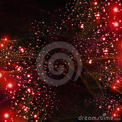 Abstract red line shiny background