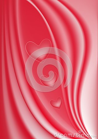 Abstract red lovely vector background