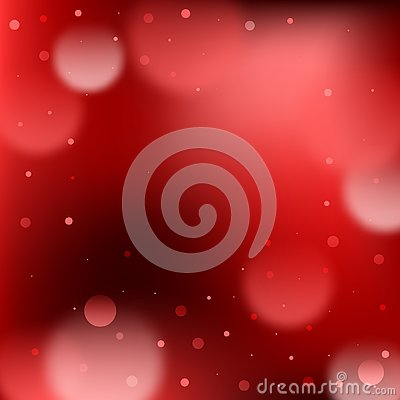 Abstract red sparkle bokeh light background design Stock Photo